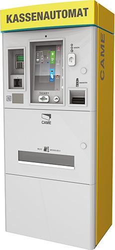 Kassenautomat für Parkplatz